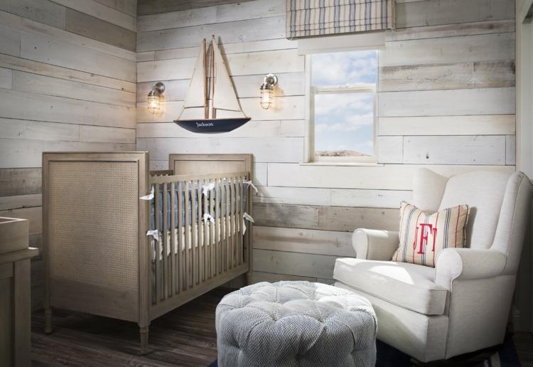 Dormitorio rústico para bebé - Dormitorios colores y estilos