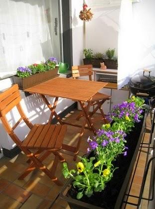Ambientar un balcón