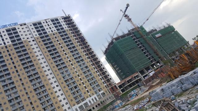 Tiến độ dự án Thăng Long Victory ngày 24/11/2015