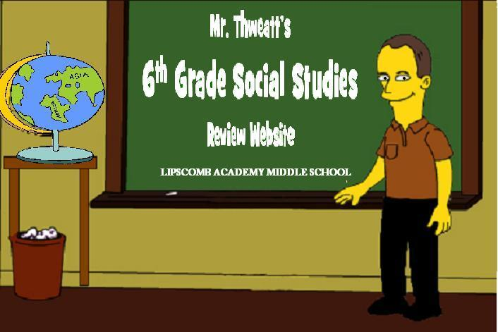 Thweatt Social Studies Review