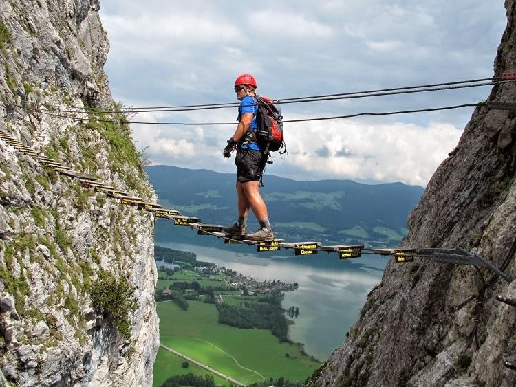 Klettersteig Rakousko : Nejlepší ferraty drachenwand klettersteig u obtížnost c d