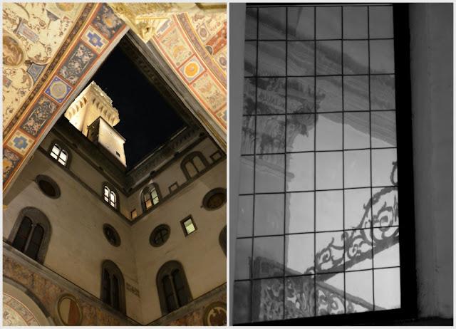 Florence -Palais Vecchio by night