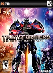 Transformers Rise of the Dark Spark PC Cover Transformers Rise of the Dark Spark FLT