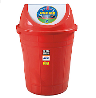 Buy Aristo Swing Dust Bin 32 Litres at  Rs.309 Via  Pepperfry:buytoearn