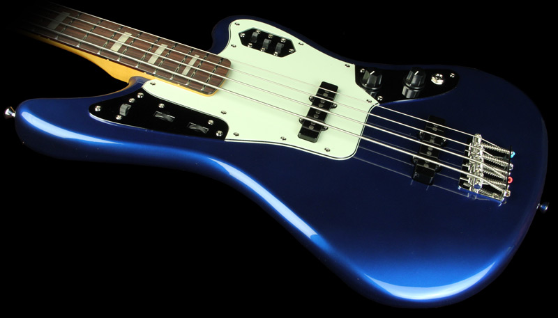 Cobalt Blue Bass Guitar