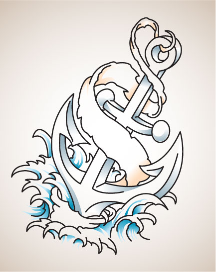 Tattoo Anchor Designs1
