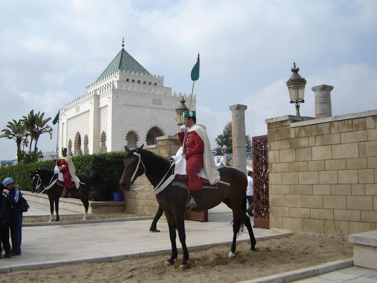 Mausoleo de Mohamed V, Rabat