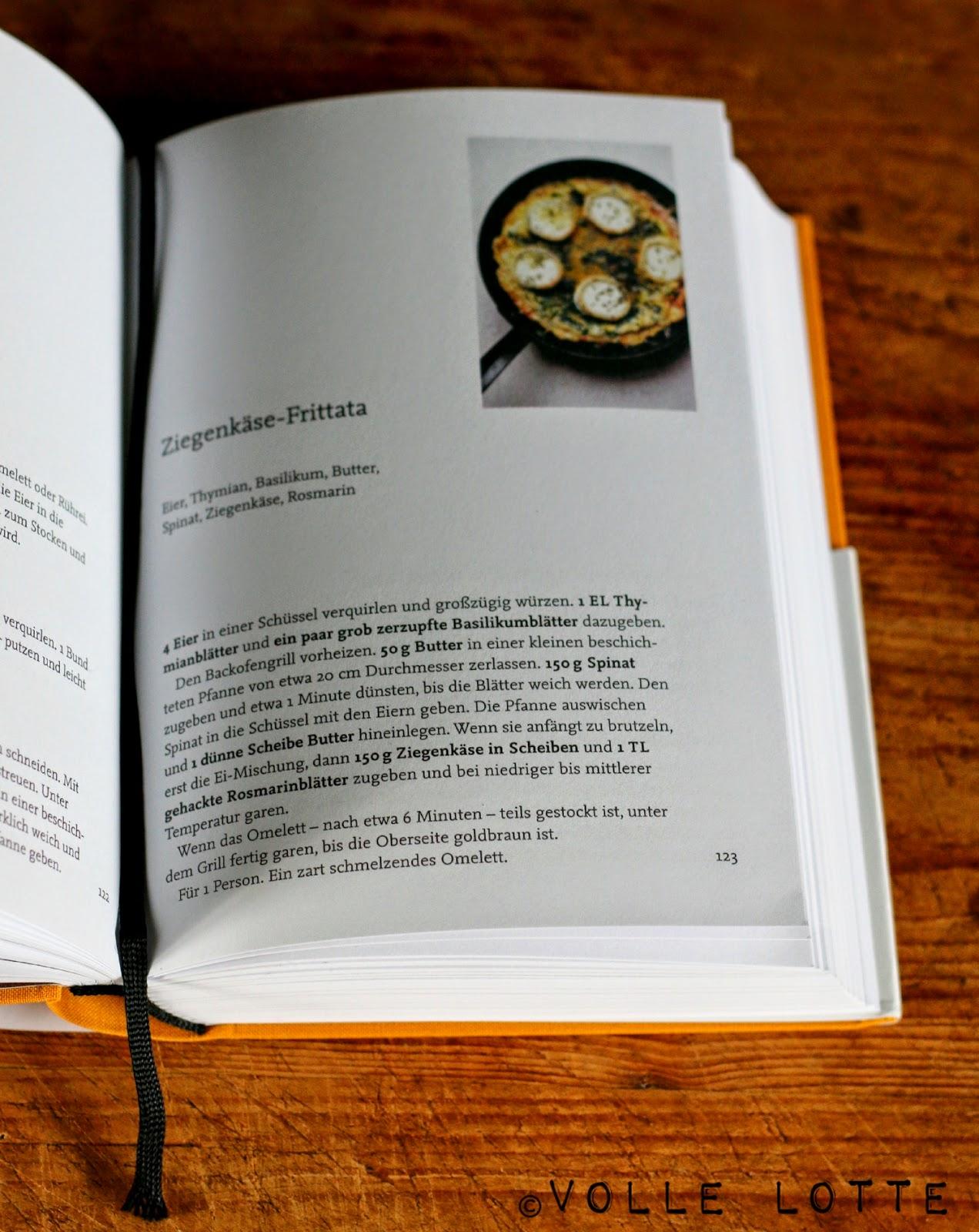 Nigel Slater, Fast Food, Kochbuch, Ziegenkäse-Frittata
