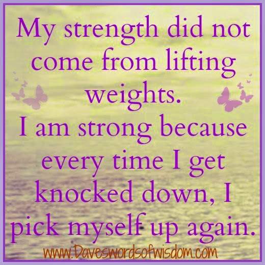 My strength did not come from for Where did pi come from