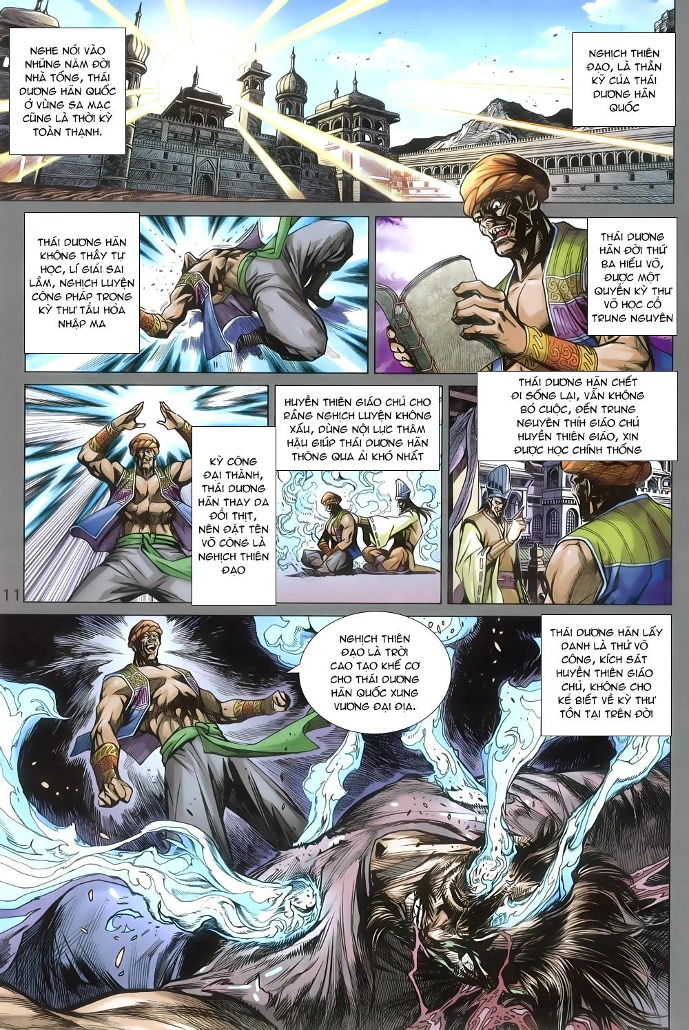 Tân Tác Long Hổ Môn chap 806 Trang 11 - Mangak.info