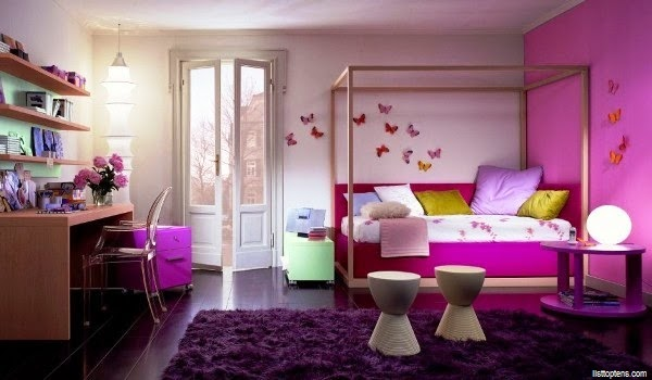 Awesome Idee Deco Chambre Fille 10 Ans Gallery - Design Trends 2017 ...