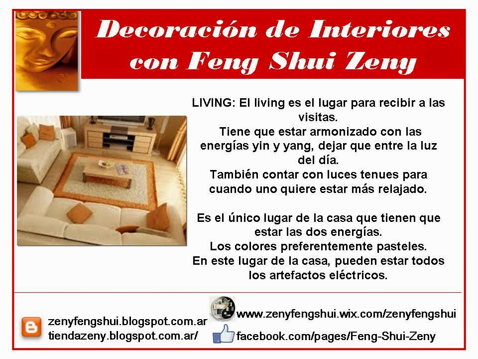 Zen y feng shui tao feng shui recibidor y living for Colores para living feng shui