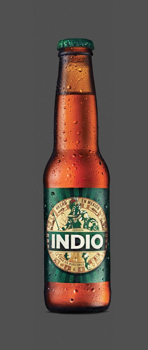 indio una cerveza