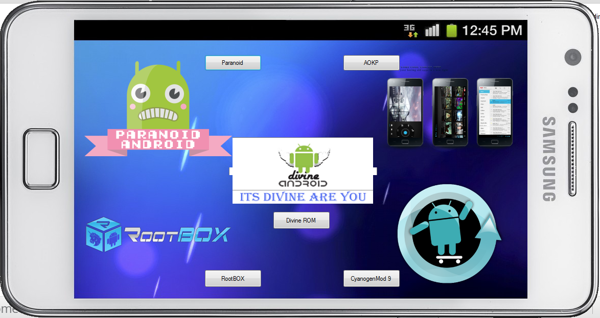 List of all custom ROMs available for Samsung Galaxy S II i9100G.