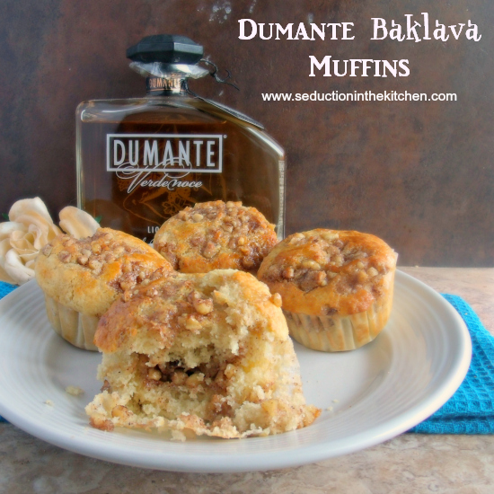 Dumante Baklava Muffins by Seduction In The Kitchen