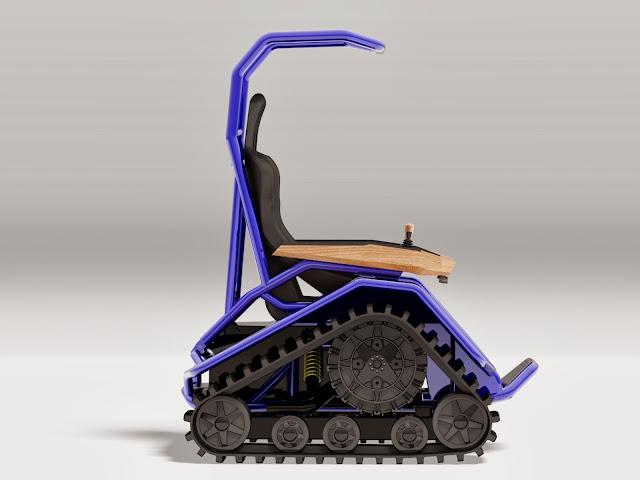 Der Ziesel Offroad Driving Machine | Der Ziesel | Der Ziesel Specs | Der Ziesel price