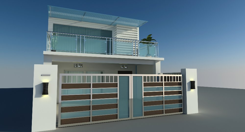 Home balcony design interior decorating for Terrace railings design philippines