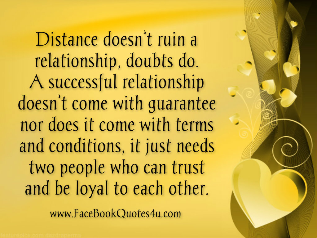 Distance dating quotes