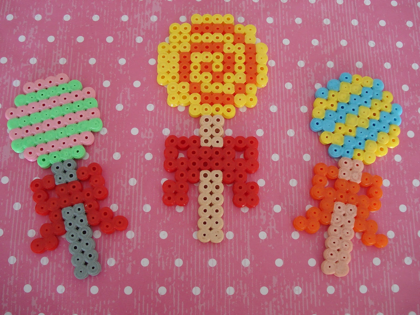 Cupcake Cutie Hama Bead Projects