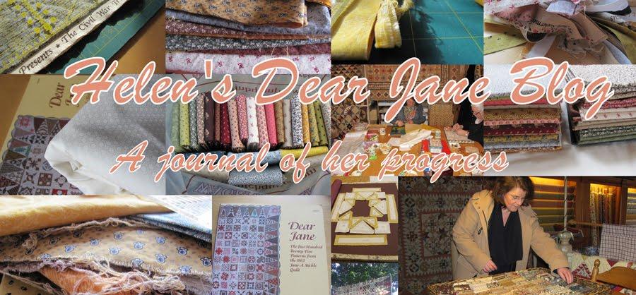 Helen's Dear Jane® Quilt
