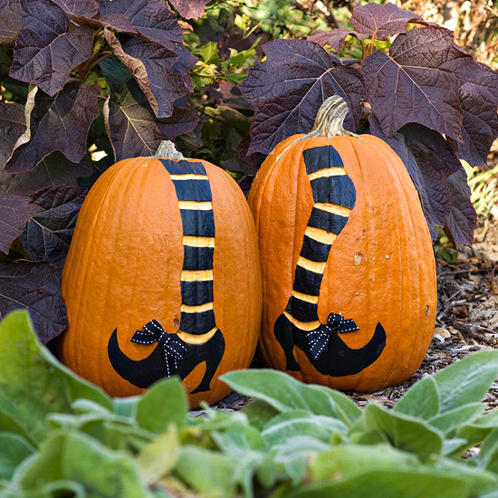 Ever ready creative pumpkin decorating ideas for Different pumpkin designs