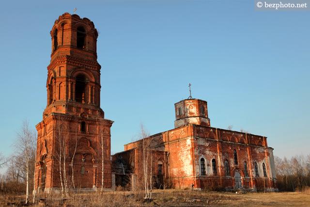 заброшенные церкви россии фото