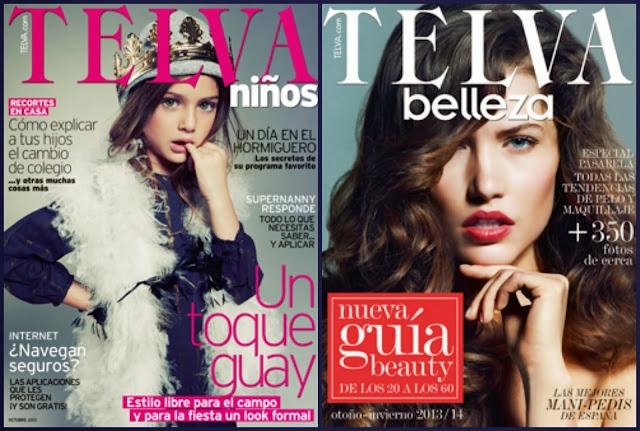 Regalos revista Telva octubre 2013