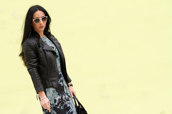 Estilo urbano chic femenino rock de blogger de moda valenciana