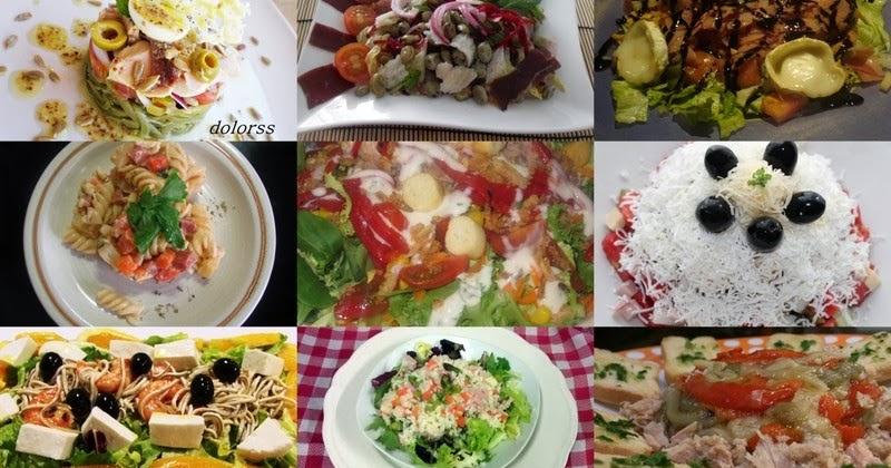 La empana light de bego 9 ensaladas completas como plato for Cenas frias ligeras