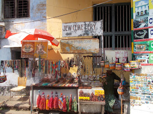 Handicrafts on Jew Town road. in Mattancherry.