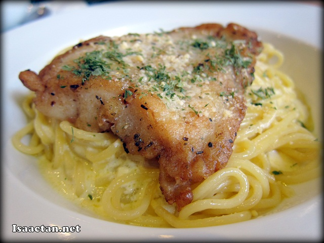 Dory Fish with Sour Cream Spaghetti - RM16.90
