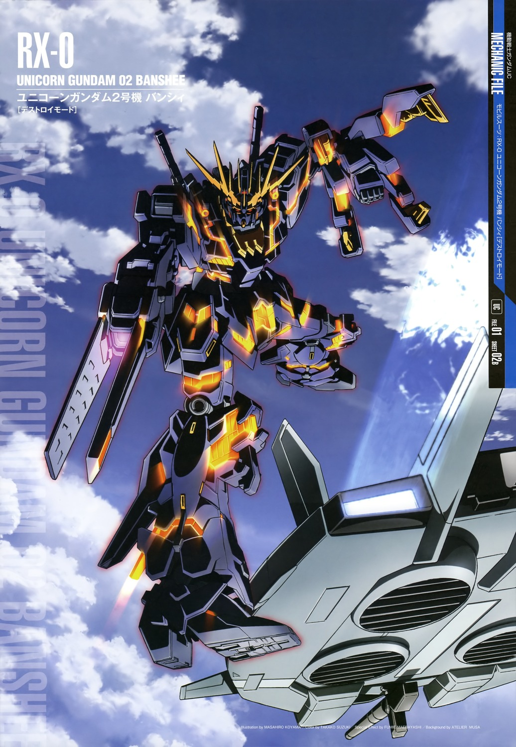 GUNDAM GUY: Mobile Suit Gundam Mechanic File - Wallpaper ...