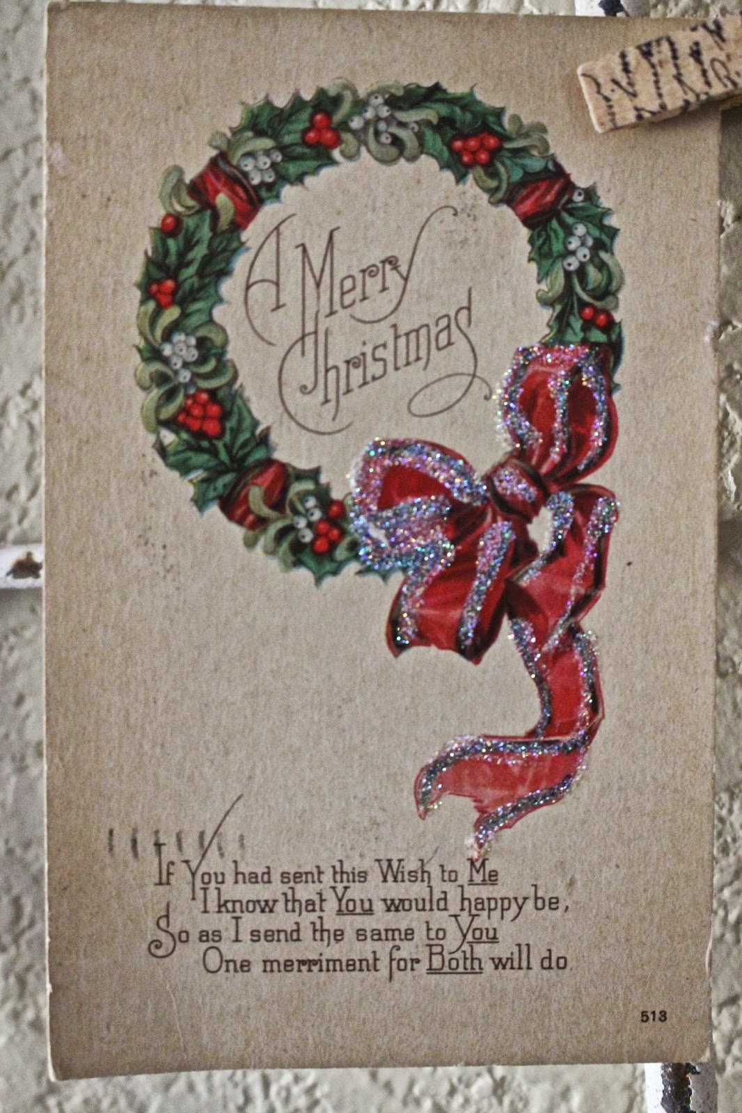 Rooted in thyme: ~vintage christmas post cards~