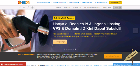 Kepowan-LamanMukaBEON.png | Untuk melayani layanan cloud murah, BEON INTERMEDIA telah hadir dengan teknologi baru agar dapat meneruskan 7 (tujuh) yang gemilang bersama lebih kurang 7.000 (tujuh ribu) pelanggan hosting dan menjadi Hosting Terbaik untuk Bisnis Online Profesional. BEON INTERMEDIA merupakan supplier server hosting Indonesia asli yang memiliki kemampuan teknologi yang berkelas internasional. Baik untuk melayani situs web profesional dan situs web premium, BEON mengaplikasikan teknologi Content Delivery Network/Content Distribution Network (CDN) yang membuat situs web tersebut selalu siap untuk diakses kapan saja dan dimana saja tanpa terbatas ruang dan waktu. Didukung pula dengan perkembangan smart phone (telepon pintar) maka membuat pelanggannya mudah untuk saling berinteraksi.