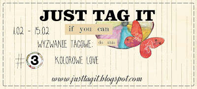 Wyzwanie tagowe: Kolorowe love