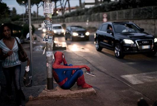 e se os super heróis e personagens dos desenhos animados vivessem no mundo real fotos criatividade curiosidades imagens eu adoro morar na internet