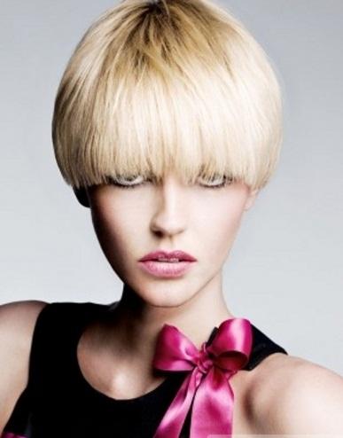 Stylish Short Round Crop Hair Style 2014