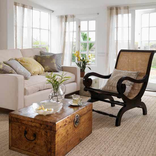 Classic Decorating Ideas For Plantation Style Homes: Home Interior Design: Collection Of Country Living Room Styles