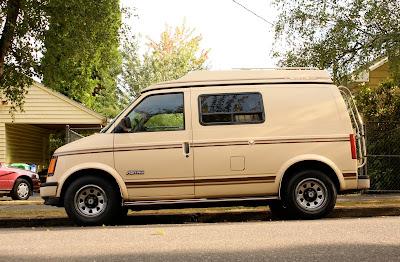 Astro Van Chinook Custom Camper.