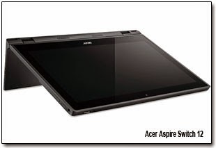 Гаджет может Acer Aspire Switch 12 работать в пяти конфигурациях