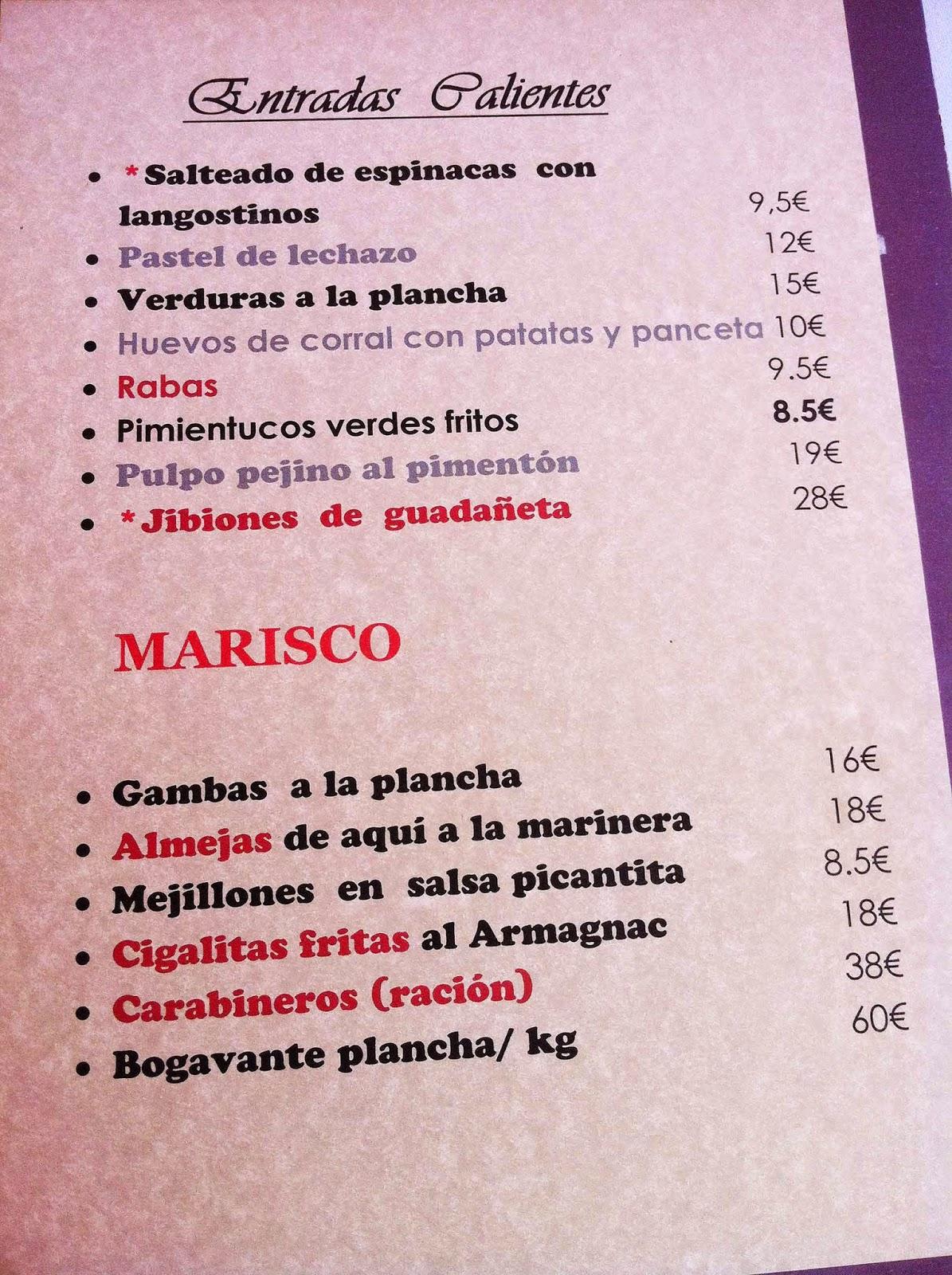 Restaurante-ElRisco-Laredo-Entrantes-Calientes