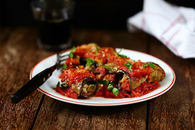 Parmigiana d'aubergines ou melanzane alla parmigiana comme dans les Pouilles