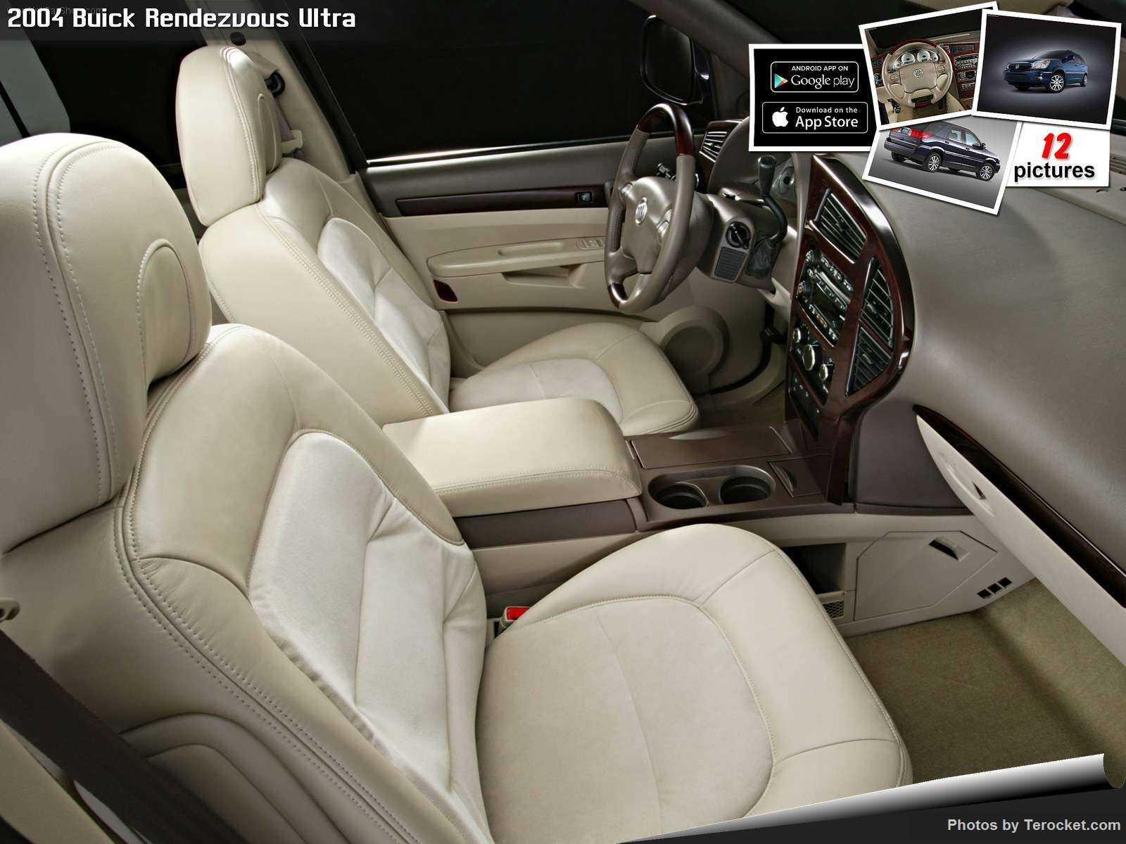 Hình ảnh xe ô tô Buick Rendezvous Ultra 2004 & nội ngoại thất