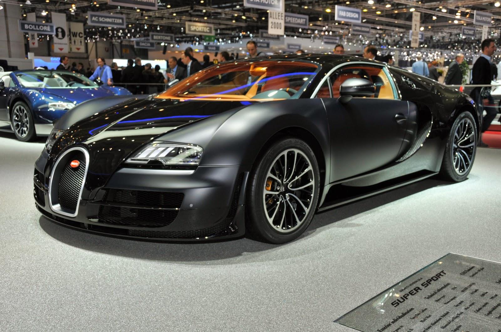 Bugatti Super Veyron Front View Image