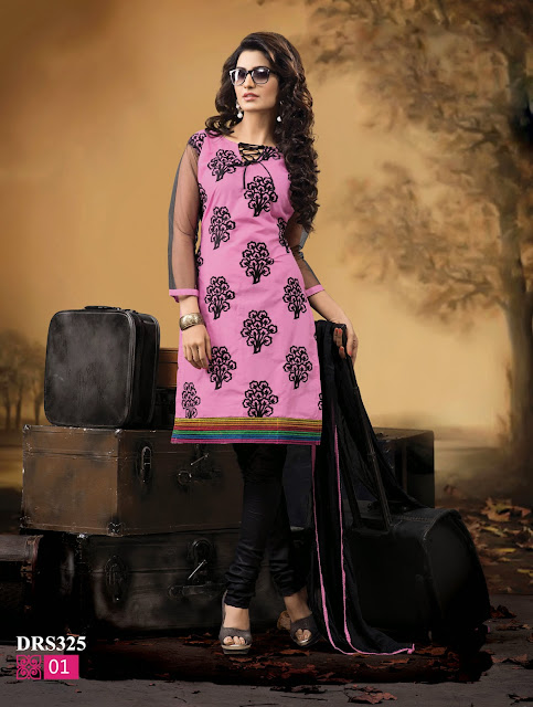 New Arrival Cotton Embroidered Dress Material- Exporter