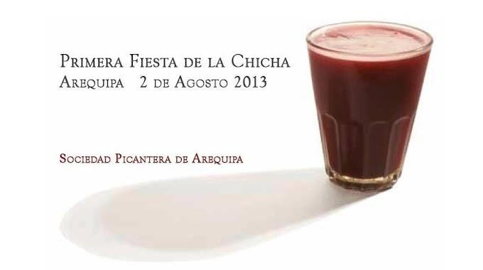 Primera Fiesta de la Chicha Arequipa 2013 ( 02 agosto)