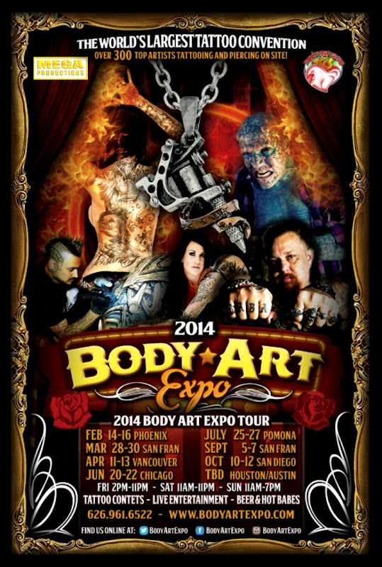 Body Art Expo Tour   World Tattoo Events