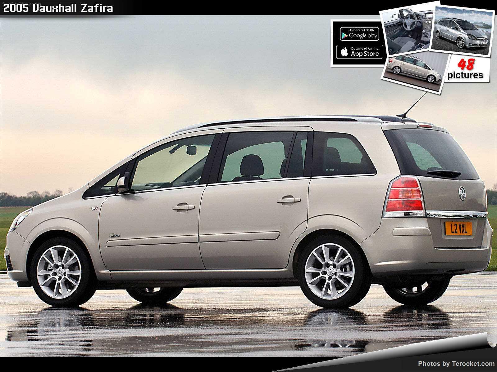 Hình ảnh xe ô tô Vauxhall Zafira 2005 & nội ngoại thất
