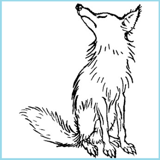 narrative text fable about the fox