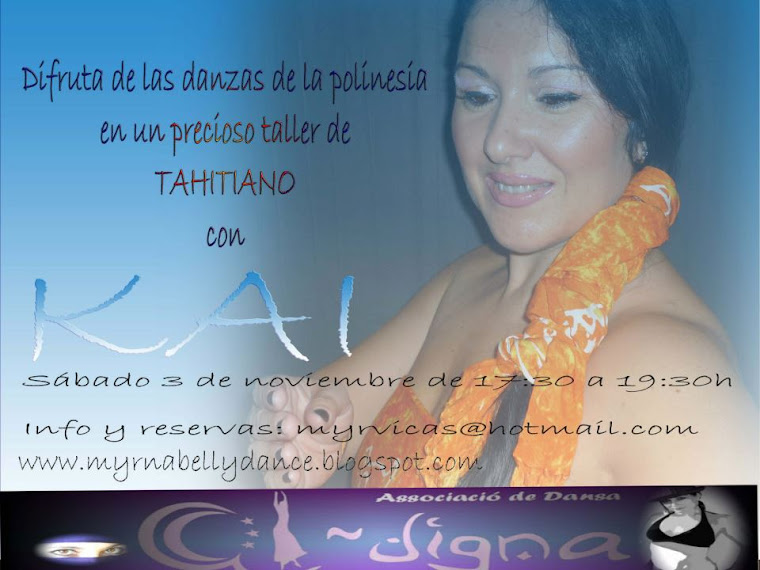 taller de tahitiano en valencia con kai danzas